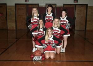 2012-2013 8th Grade Winter Cheerleading Team Members ...